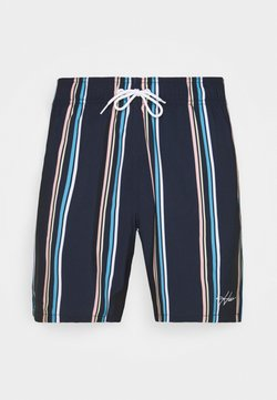 Hollister Co. - Badeshorts - navy stripe