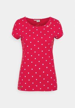 Ragwear - DOTS - T-Shirt print - red