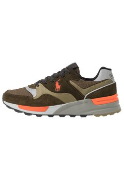 Polo Ralph Lauren - Sneaker low - deep olive/basket