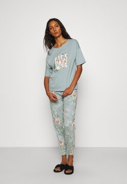 Marks & Spencer London - HAPPINESS - Pyjama - aqua