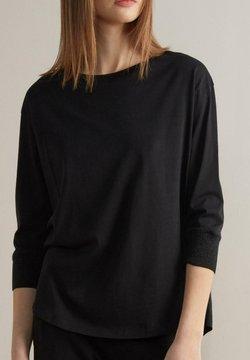 Falconeri - Langarmshirt - schwarz