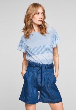 s.Oliver - T-Shirt print - blue lagoon stripes