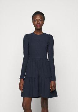 ONLY Tall - ONLNELLA PUFF DRESS - Vestido de punto - night sky