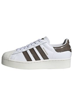 adidas Originals - SUPERSTAR BOLD W - Sneakers laag - white