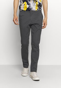 Jack & Jones - JJIMARCO JJBOWIE BOX CHECK - Chinot - dark navy