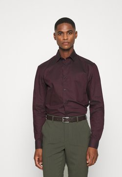 Selected Homme - SLHSLIMNEW MARK - Businesshemd - winetasting/black