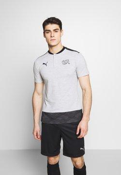 Puma - SCHWEIZ SFV CASUALS  - Voetbalshirt - Land - light grey heather