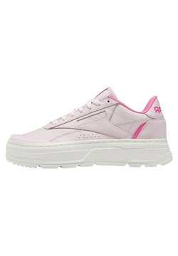 Reebok Classic - CLUB C DOUBLE  - Matalavartiset tennarit - pink