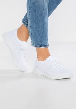 Skechers Sport - ULTRA FLEX - Loafers - white/silver