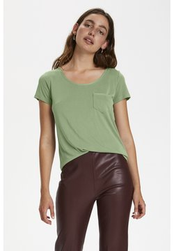 Soaked in Luxury - T-shirt basic - hedge green