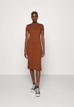 Zign - Jersey dress - brown