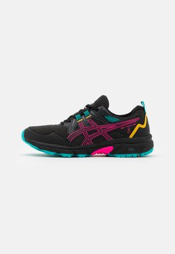 ASICS - GEL-VENTURE 8 - Zapatillas de trail running - black/pink glow