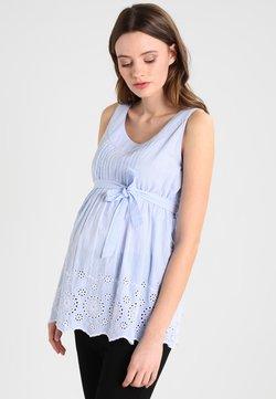 JoJo Maman Bébé - BATIK CAMISOLE  - Bluse - blue