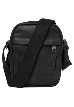 Eastpak - THE ONE/LEATHER - Sac bandoulière - black ink leather