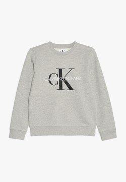 Calvin Klein Jeans - MONOGRAM LOGO - Sweatshirt - light grey heather