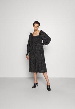 Bruuns Bazaar - ASTER SMOCK DRESS - Korte jurk - black