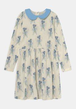 Mini Rodini - WINTERFLOWERS DRESS - Jerseykleid - blue