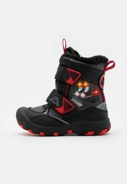 Kappa - GROOMER TEX UNISEX - Snowboot/Winterstiefel - black/grey