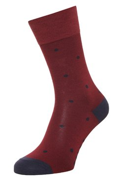 FALKE - DOT  - Socken - garnet