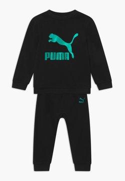 Puma - PUMA X ZALANDO BABY JOGG SET - Trainingspak - black