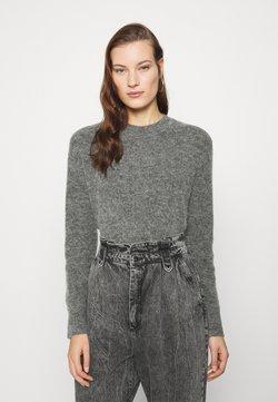 Samsøe Samsøe - ETA CREW NECK  - Pullover - dark grey