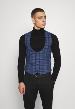 Topman - JAMES - Gilet elegante - blue