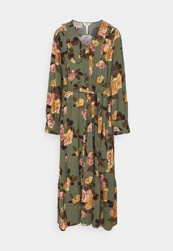 Object - OBJROSE DRESS - Maxiklänning - deep lichen green