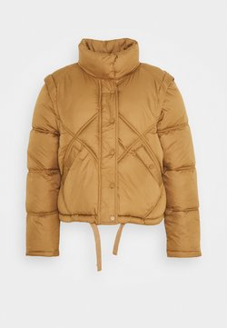 ONLY - ONLHANNAH QUILTED JACKET - Winterjacke - toasted coconut