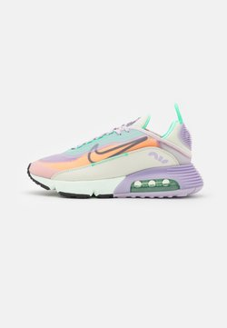 Nike Sportswear - AIR MAX 2090 - Sneakers laag - infinite lilac/dark smoke grey/sea glass/laser orange/green glow/barely rose