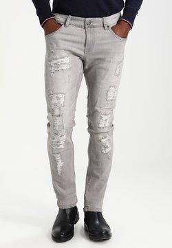 INDICODE JEANS - NARVIK - Slim fit jeans - light grey