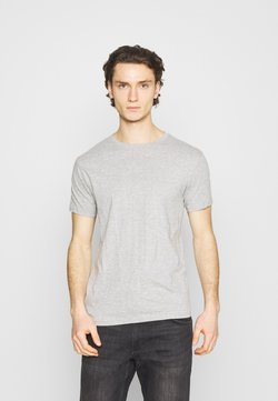 Denim Project - 3 PACK - Basic T-shirt - black/white/grey