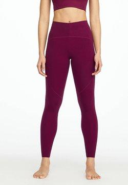OYSHO - Collants - dark purple