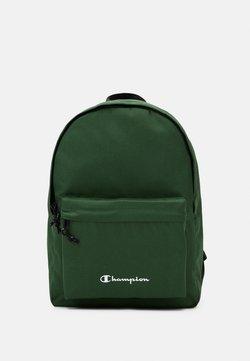 Champion - LEGACY BACKPACK - Reppu - dark green/black