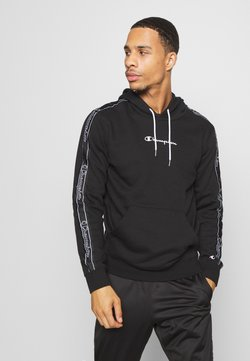 Champion - LEGACY TAPE - Kapuzenpullover - black