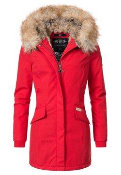 Navahoo - CRISTAL - Wintermantel - red