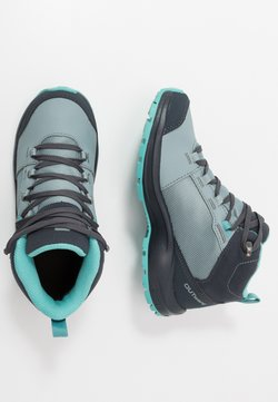 Salomon - OUTWARD CSWP - Chaussures de marche - lead/ebony/meadowbrook