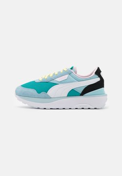 Puma - CRUISE RIDER SILK ROAD - Matalavartiset tennarit - viridian green/aquamarine