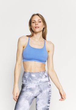 Sweaty Betty - FOUNDATION SEAMLESS YOGA BRA - Sujetadores deportivos con sujeción media - cornflower blue