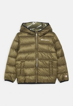 Champion - LEGACY OUTDOOR HOODED JACKET UNISEX - Winterjas - khaki