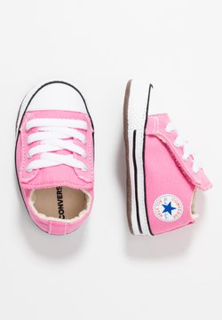 Converse - CHUCK TAYLOR ALL STAR CRIBSTER MID - Ensiaskelkengät - pink/natural ivory/white