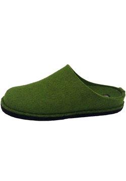 Haflinger - Hausschuh - grasgrün