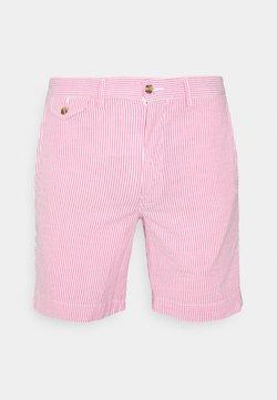 Polo Ralph Lauren - SEERSUCKER - Shorts - pink/white