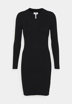 Object Petite - OBJFAE THESS DRESS - Shift dress - black