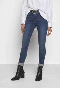 Topshop - LEIGH - Jeans Skinny Fit - blue denim