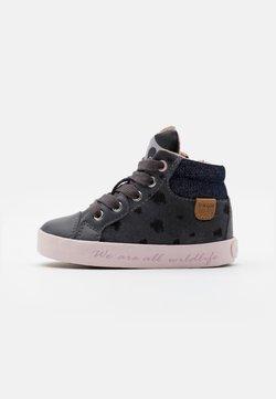 Geox - KILWI GIRL - Sneakers hoog - dark grey