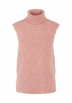 YAS - YASBRAVO - Strickpullover - dusty pink
