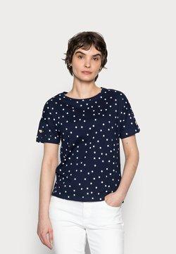 Springfield - BOTON - T-Shirt print - medium blue
