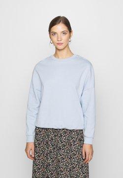 Even&Odd - Oversized Sweatshirt - Collegepaita - blue
