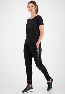 Monari - Jogginghose -  schwarz