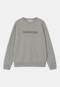 Calvin Klein Jeans - INSTITUTIONAL LOGO UNISEX - Sweatshirt - grey